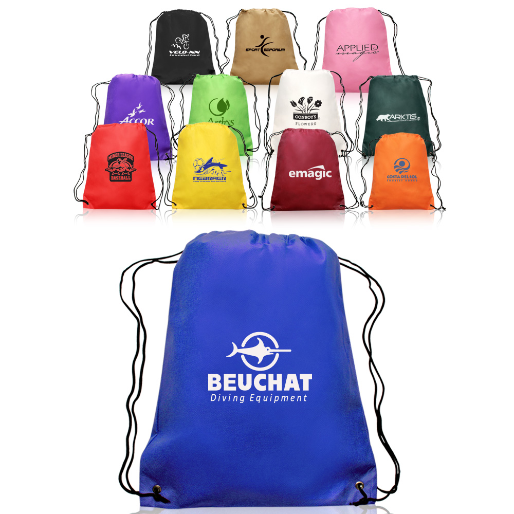 a296169670 ATOT12 Non-Woven Drawstring Backpacks ...