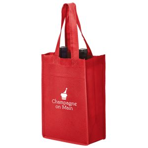 Vine2 Two Bottle Non Woven Wine Tote Bag