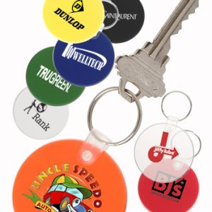 Round Soft Key Tags