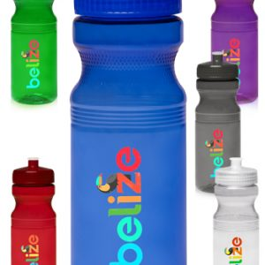 24 oz Poly-Clear Bike Water Bottles