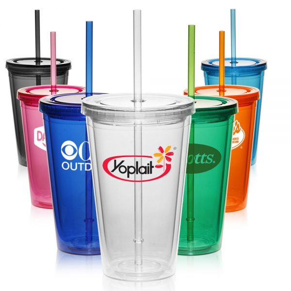 APG161 16 oz Double Wall Acrylic Tumblers