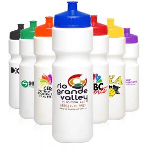 AWB28USA 28 oz Plastic Water Bottles