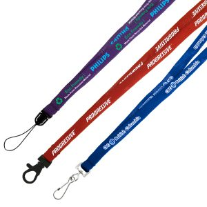 "3/8"" Recycled Euro Soft Lanyard"