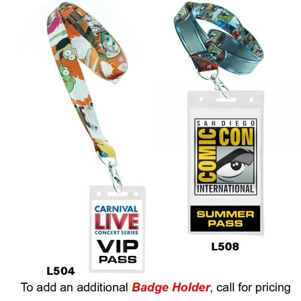 "3/4"" HD Sublimation Lanyard"