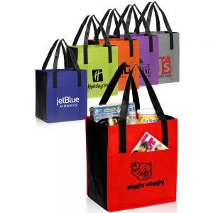 Non Woven Shoppers Pocket Tote Bags ATOT111