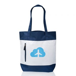 Seaside Tote Bags with Front Zipper A102CB