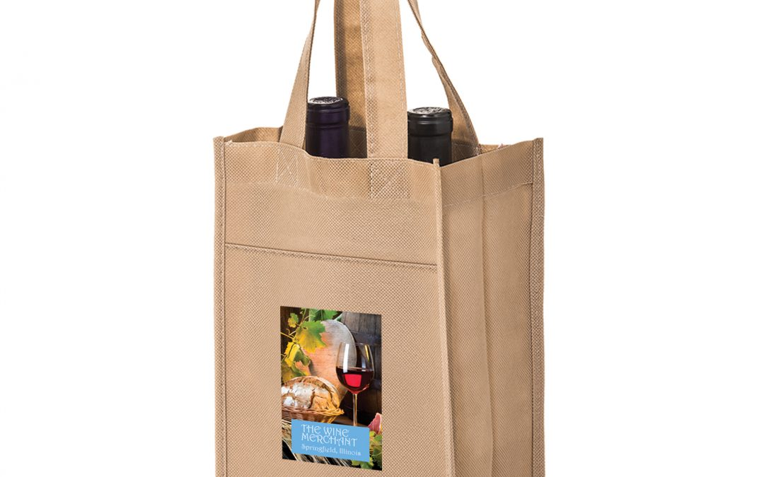 Reusable Recycled Wine Tote Bags Wholesale