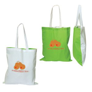 E9132 Belleflower Cotton Tote