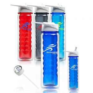 19 oz Dimension Water Bottles with Straw APG243