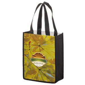 SUB8410 Dye Sublimation PET Non Woven Sublimated Tote Bag