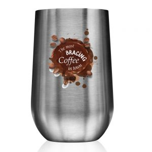 14 oz Stainless Steel Mugs with Side Lock Lid AST40