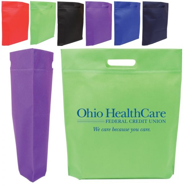 Die Cut Handle Trade Show Non Woven Tote BG204