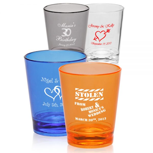 1.5 oz. Translucent Plastic Shot Glasses ASHOT02