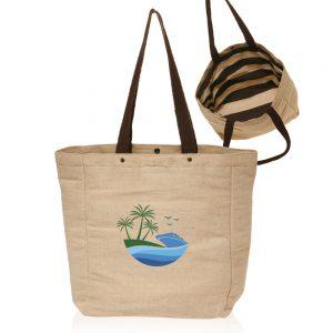 Cotton Jute Tote Bags ATOT3761