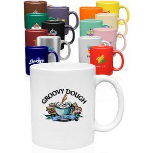 11 oz. Traditional Ceramic Coffee Mugs A7102