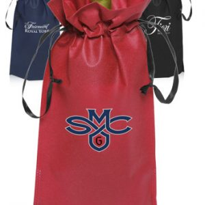 Non Woven Vineyard Ribbon Drawstring Bags ATOT114