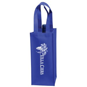 One Bottle Non Woven Wine Tote Bag