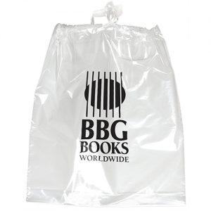 Poly Draw Bag 15x19x3