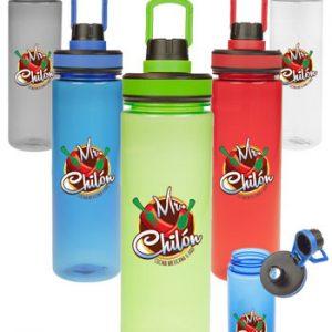 Callisto Translucent Plastic Water Bottles