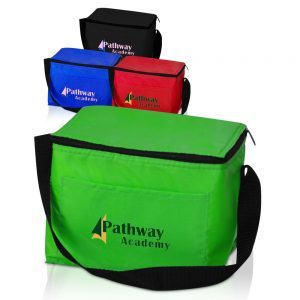Zipper Top Insulated Lunch Bags