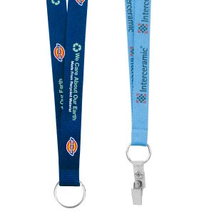 "3/4"" Screen Printed Lanyard"