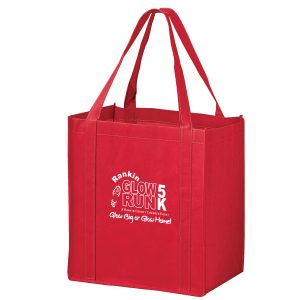 Recession Buster Non Woven Grocery Tote Bag