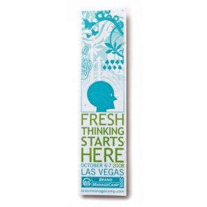 Seed Paper Bookmark