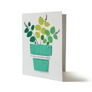 Seed Paper Shape Card