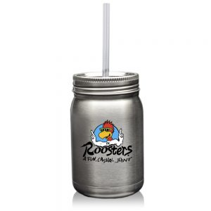 22 oz Stainless Steel Mason Jars ATM287