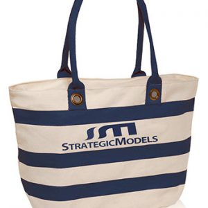Striped Sailor Canvas Tote Bags ATOT3768