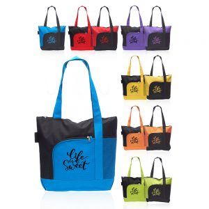 Rosella Tote Bags with Mesh Pocket ATOT251