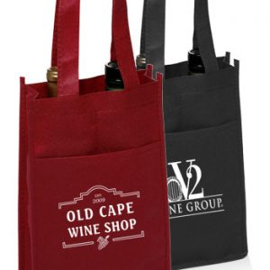 Non Woven Vineyard Two Bottle Wine Bags ATOT116